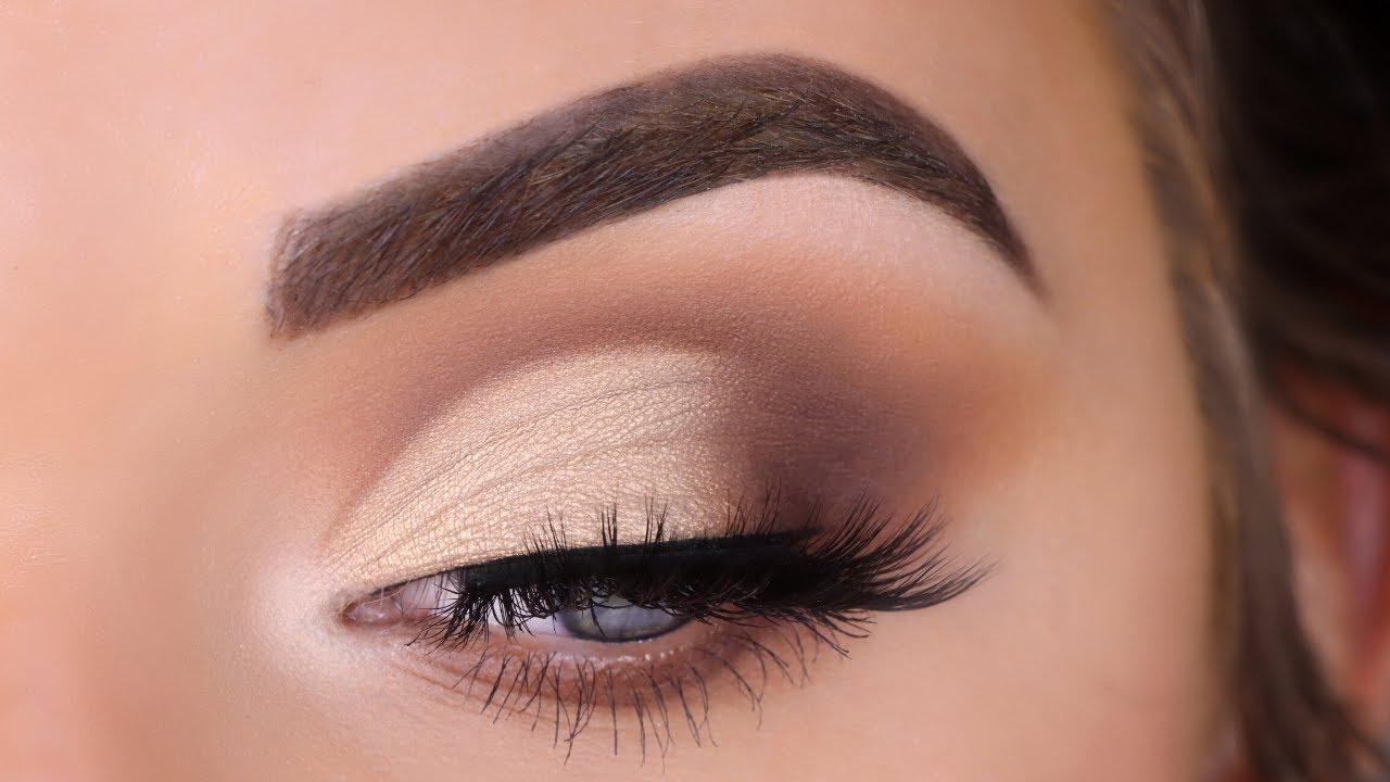 Download Half Cut Crease Eyeshadow Tutorial for Beginners   ABH Soft Glam Palette