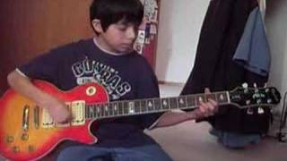 12 Yr-Old Kid Covers AC/DC