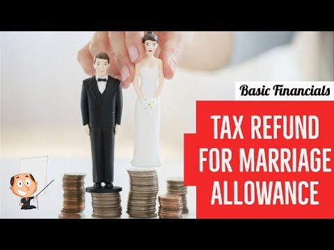 Tax Refund For Marriage Allowance