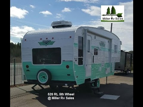 526 Rl 5Th Wheel Retro - 2017 Model - Youtube