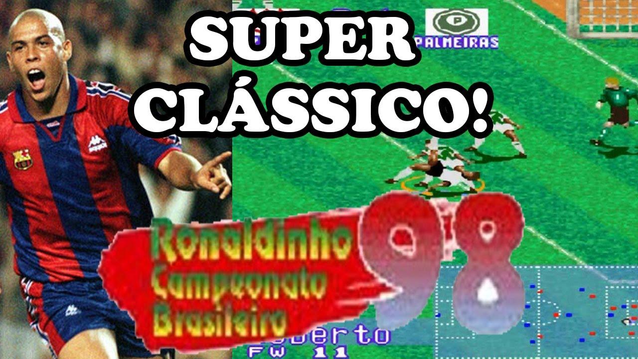 ronaldinho campeonato brasileiro 98 snes