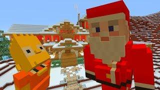 BART SIMPSON SAVES CHRISTMAS | The Simpsons | Minecraft Xbox