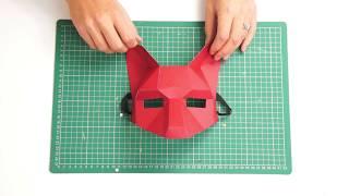 Wintercroft Fox Half Mask Build Tutorial