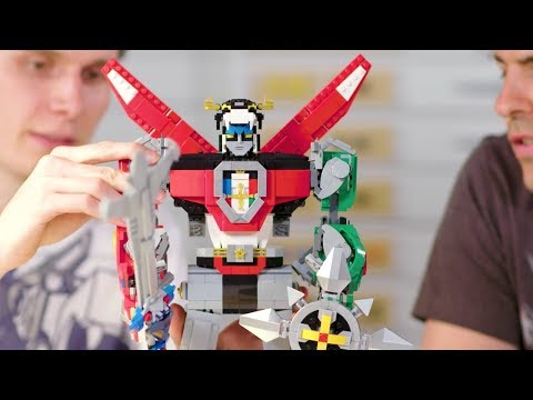 LEGO Voltron Defender of the Universe Designer Video Review - LEGO Ideas 2018 set #21311