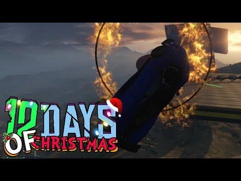 IK DUW JE DE VERKEERDE KANT! (GTA V 12 Days of Christmas #10)