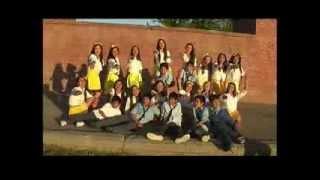 coreografia de la pollera amarilla el salvador 1° año B