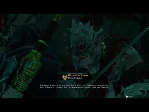 Another Shadow Of War Video Because I Have No Other Content