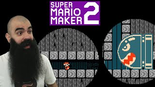 Mario Maker 2: No Skip Endless Super Expert Challenge #16 - Showing a DGR level who is the boss..