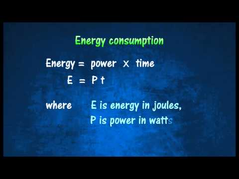 [2.5] Power rating & energy consumption