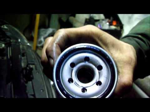 как заменить масло в двигателе на киа спектра