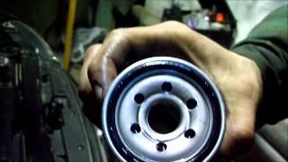 Замена масла двигателя KIA SPEKTRA