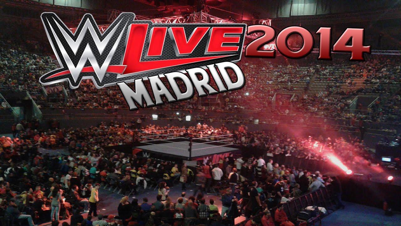 WWE LIVE MADRID 2014 highlights - mejores momentos Vista Alegre