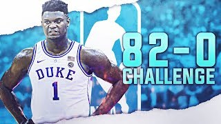 I Finally Did It...? 82-0 REBUILD CHALLENGE! NBA 2K19!
