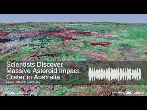 Scientists Discover Massive Asteroid Impact Crater In Australia