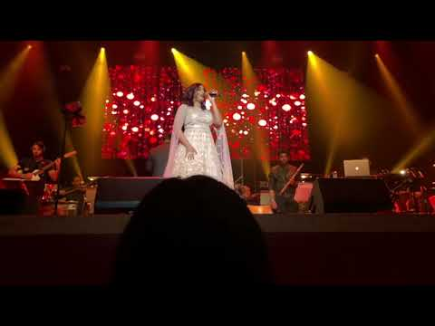Shreya Ghoshal Live in Leicester 2018