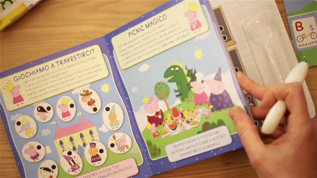 Popolare Imparare le parole e l'alfabeto con Peppa Pig - YouTube OW09