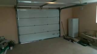 Принцип работы гаражных секционных ворот