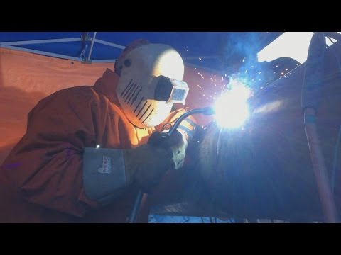 Pipeline Welding - 16 Inch SMAW and FCAW Tie In