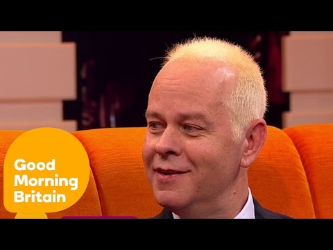 Central Perk's Gunther From Friends TV    Good Morning Britain