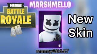 Unlocking Marshmello in Fortnite - manny68447