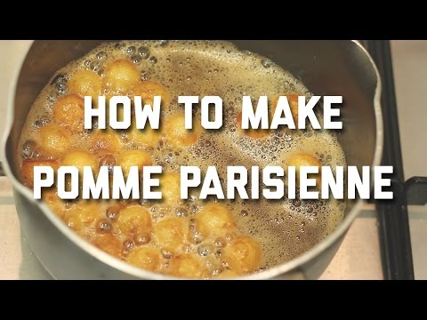 HOW TO MAKE POMMES PARISIENNE // PARISIENNE POTATOES