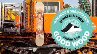 Arbor Cadence - Good Wood 2014 Women's Park Snowboard - Transworld Snowboarding