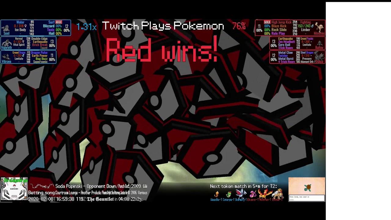 twitch plays pokemon battle revolution betting line
