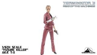 Optibotimus Reviews: Hot Heart 1/6th Scale FUTURE KILLER aka Terminator 3 T-X