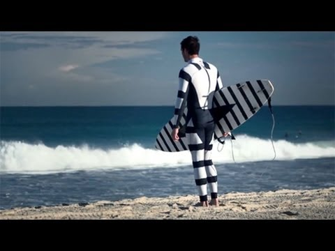'Invisibility suit' promises to protect surfers from sharks