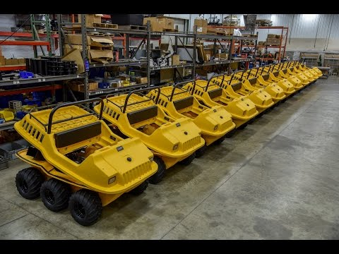 Iowa Shriners Trade Attex's for Max 6x6 Amphibious ATV's