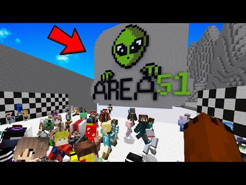I Teleported My Entire Server To AREA 51 To Try Escape...
