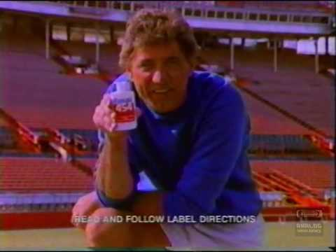 Joe Namath | Pain Relief | Television Commercial | 1991