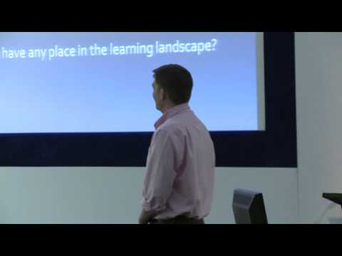 Ben Betts, How to Make Game-based Learning Work for You : Learning Technologies 2013
