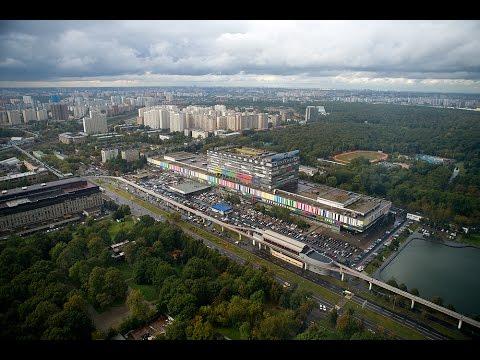 Останкинская телебашня. Вид со смотровой площадки 147 метров