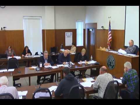 November 10, 2015 - Legislature 2016 Budget Meeting