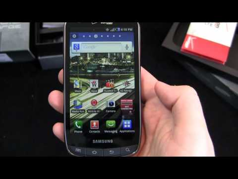 Samsung DROID Charge Unboxing
