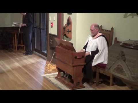 Grace Church Scared Concert - Nov. 6, 2016 - Organ and Harmonium Duet -