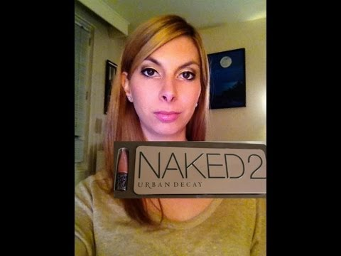 Maquillage De Soir E Avec Naked 2 D 39 Urban Decay Youtube