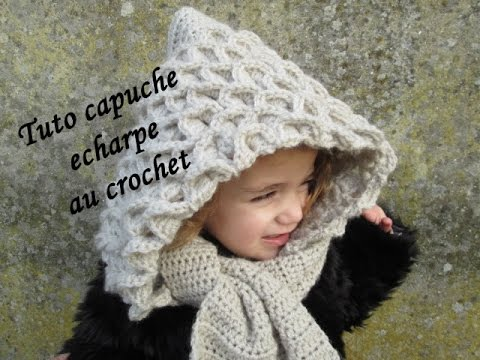 tuto echarpe capuche crocodile au crochet hooded crocodile crochet capuela tejido crochet youtube. Black Bedroom Furniture Sets. Home Design Ideas