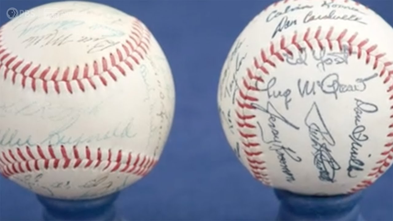 Who Knew?! | Hand-Signed vs. Machine-Stamped Baseballs | ANTIQUES ROADSHOW | PBS
