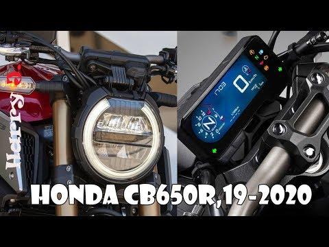 Honda CB650R 19-2020