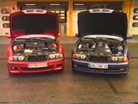 BMW E39 M5 >> BMW M5 (E39) vs Alpina B10 V8 4.6L (german) - YouTube