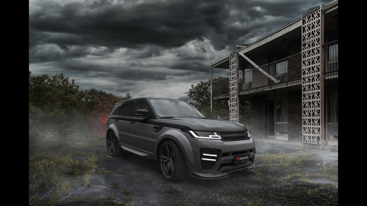 Range Rover Sport 2018 With Limited Body Kit By Renegade Design