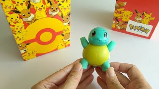 McDonald's Happy Meal Toy: Pokemon - Squirtle (2018)