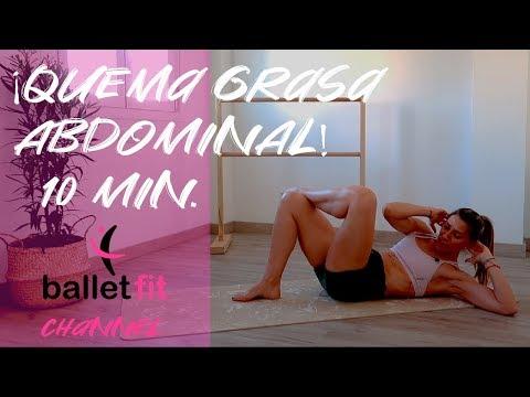 👉🏻 Abdominales Quema Grasa Activando Desde Dentro | Ballet Fit