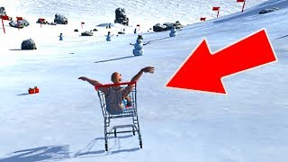 DOWNHILL SHOPPING CART SIMULATOR!