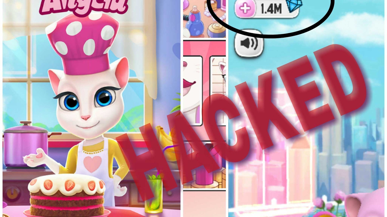 How To Hack My Talking Angela 2017