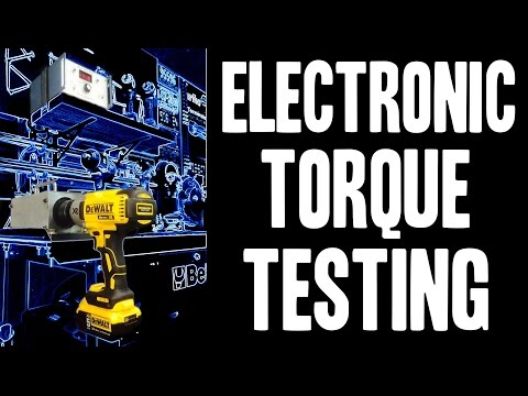 NEW!  Electronic Torque Testing (Impact Wrenches) Skidmore Wilhelm T-3000