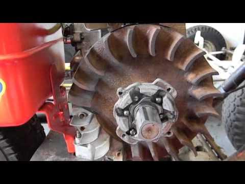 briggs  stratton hp engine starter clutch repair youtube