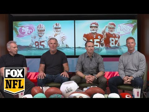 Super Bowl LIV Watch Party With Joe Montana, Brett Favre, & Drew Brees: 2nd Half | FOX NFL